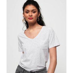 Superdry买3件享7折Ol Essential Vee T恤