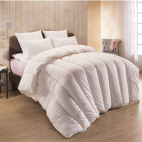 7折起 最后2件蚕丝被€79.95Amazon 空调被限时促 亲肤透气助睡眠 可水洗可烘干方便打理