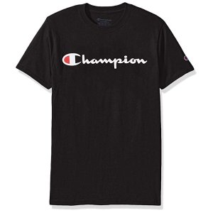ChampionMen's Classic Jersey Script T-Shirt