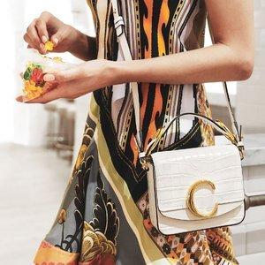 低至4折 收王珞丹同款最后20分钟:Chloe 美包美鞋专场 收新款C字包、圆环包