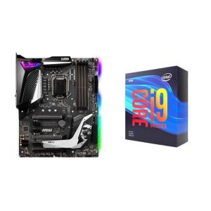 Intel Core i9-9900KF + MSI MPG Z390 GAMING PRO CARBON AC