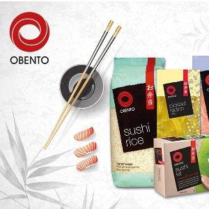 买5付4 1kg€3.29Obento 糯糯的寿司米 做紫菜包饭、饭团 不会散掉哦