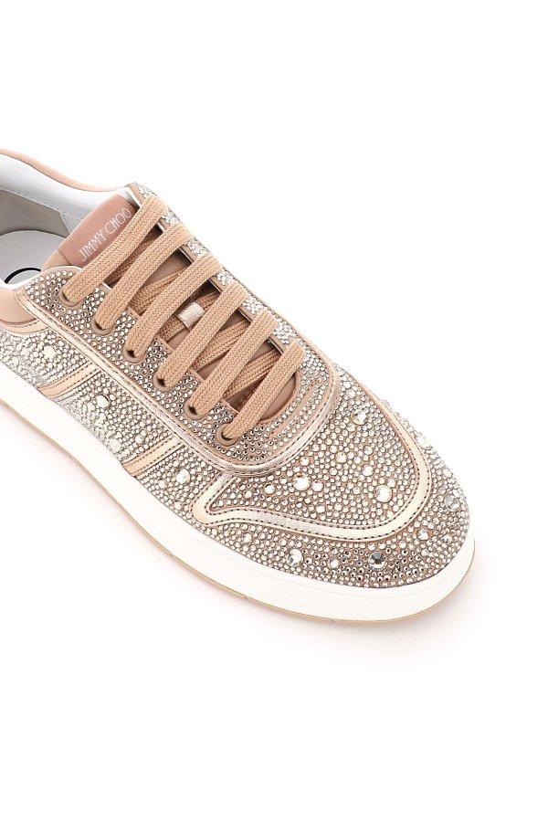 全新满水晶运动鞋