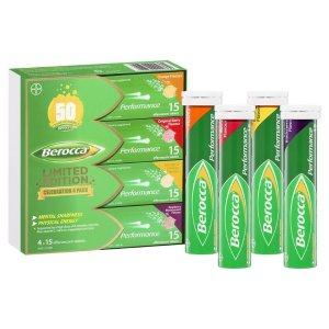 Berocca Limited Edition 泡腾片 4种口味 60 Pack