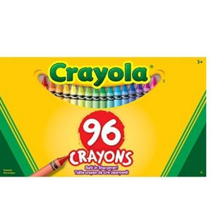 销量冠军 $4.47(原价$7.99)Crayola儿童蜡笔96支装(带卷笔刀)