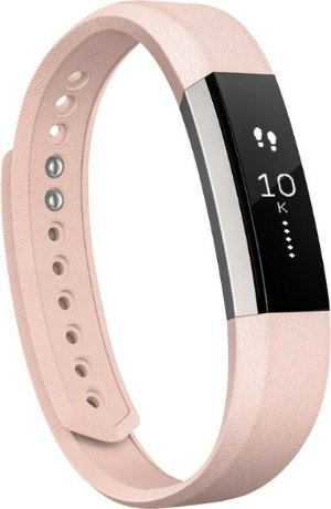 Fitbit - Alta Leather band (Large) - Blush Pink