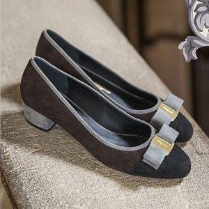 低至5折+美鞋额外8折 入经典款Salvatore Ferragamo 精选优雅气质美包、美鞋专场
