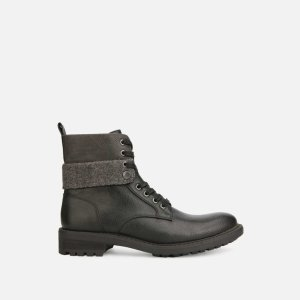 Textile Wrap Boot with Lug Sole