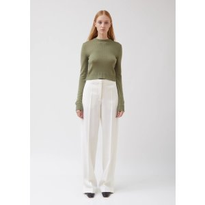Jil SanderGable Twill Wide Leg Trousers