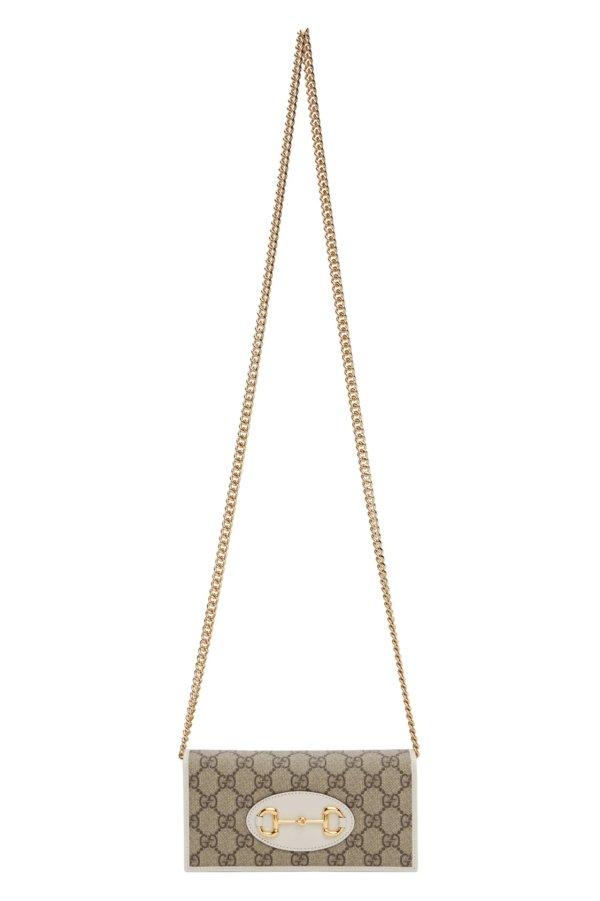 'Gucci 1955' Horsebit 链条钱包