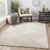 Wovenly 几何图案地毯