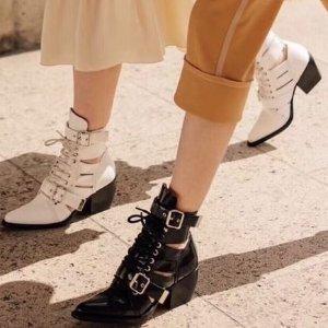 低至2折 Chloe袜靴$365即将截止:Ssense 靴子反季囤货专场 收MiuMiu、Gucci美靴