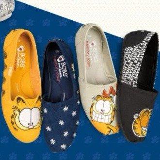 BOBS x @Garfield Shoes @ skechers $45 +