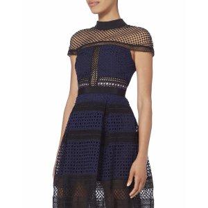 额外7折 Self-portrait新款美裙$258intermix 精选大牌设计师品牌折扣区折上折