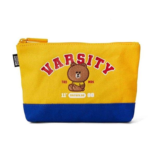 布朗熊 校园系列化妆包收纳袋