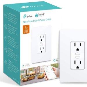 $24.99 (原价$39.99)TP-Link Kasa 智能2插口插座  懒人享便捷智能生活
