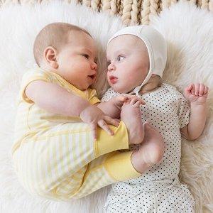 6折+新用户8折Hanna Andersson 婴幼儿服饰促销 有机棉材质不刺激皮肤