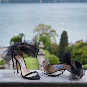 爆款7折 €332收经典水晶鞋11.11独家:Jimmy Choo闪闪高跟鞋福利价 收气场女王必备款