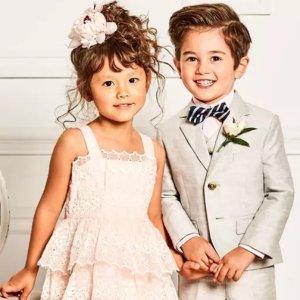 低至5.5折+额外8折折扣升级:Janie And Jack 节日礼服热卖 精致复古童装给你的生活增加仪式感