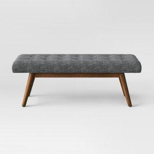 Copan Mid Century Bench Dark Gray - Project 62™ : Target