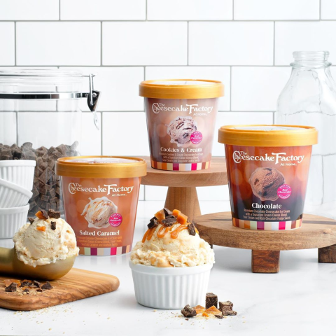 $4.99 Available NationwideThe Cheesecake Factory Releases Cheesecake-Flavored Ice Creams