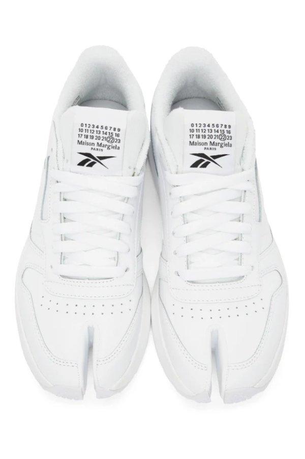 Reebok 合作款白色运动鞋