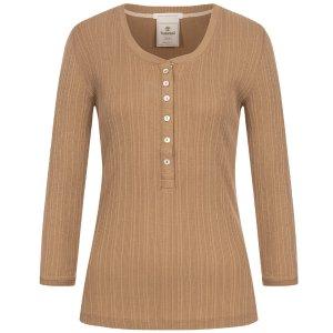 Timberland女式长袖T恤 卡其色