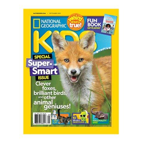 National Geographic Kids 1 year Magazine