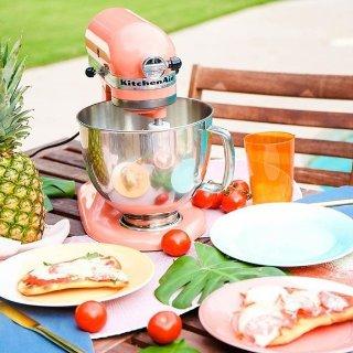 $249 (原价$699) 收少女粉KitchenAid 高颜值马卡龙色 专业厨房料理机
