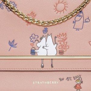 满£400立送卡包1个(价值£85)Strathberry 英伦气质美包秋冬上新 姆明系列补货