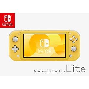 NintendoSwitch Lite 黄色