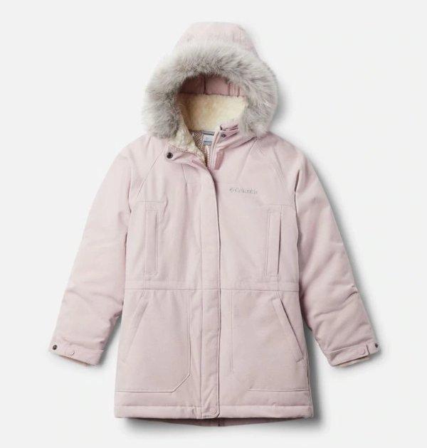 儿童保暖羽绒长外套