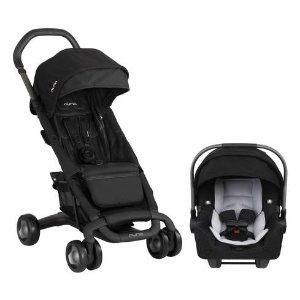 $399.25 (原价$549.90) 包邮NUNA PEPP 童车和 PIPA 汽车座椅套装 近年超火时尚童车品牌