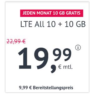 每个月可以解约逆天价:包月电话、短信、20GB上网只要19.99欧
