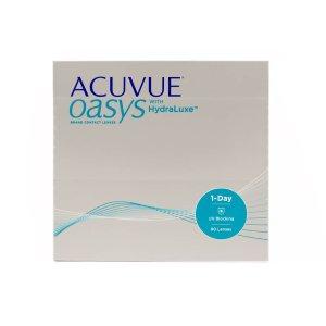 Acuvue标价为额外8折Oasys 透明日抛90片