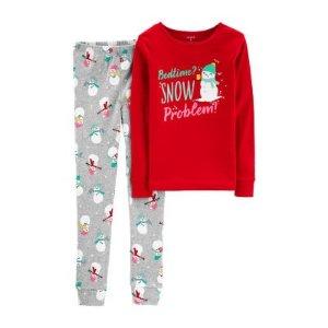 b9a400a34 CartersCarter's 2-Pc. pant Pajama Set - Preschool Girls