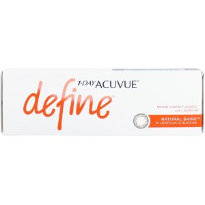 Acuvue1 Day Acuvue Define Natural Shine with LACREON | lenspure