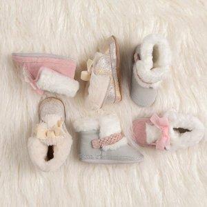 5折起 $24.99收软底靴Robeez 婴儿软底靴子促销 软萌暖和过冬天