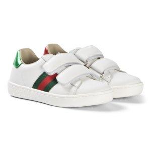 Gucci38码有!大童款小白鞋