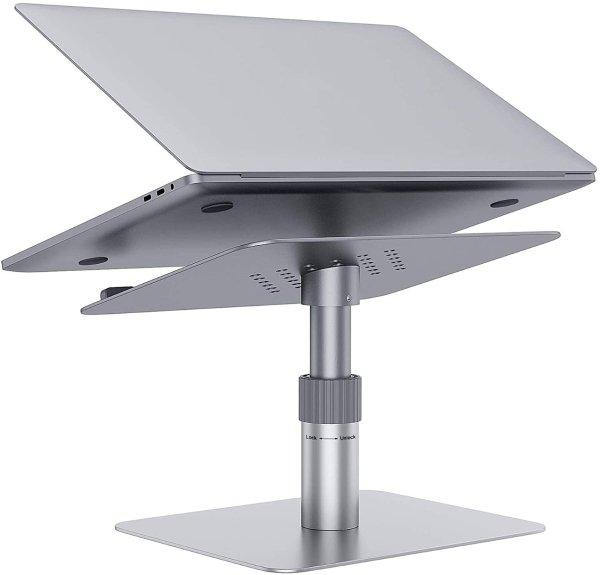 GIKERSY 笔记本升降支架 支持360度旋转 外接键鼠轻松工作