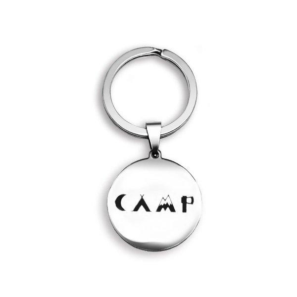 露营纪念钥匙链