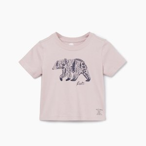 Roots宝宝款短袖T恤