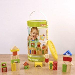 Spark .Create. Imagine. 150-Piece Wooden Blocks Set