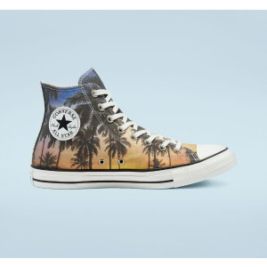 ConverseSunset Palms Chuck Taylor帆布鞋