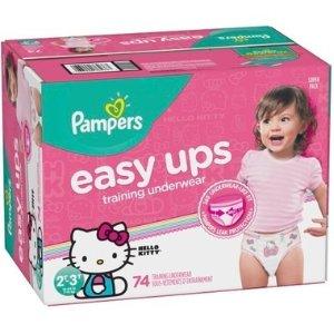 Pampers需用码PAMPERS5拉拉裤 2T-5T号 56-74个量贩装