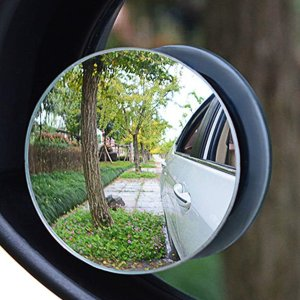 两个$9.97Ampper 圆形盲区辅助镜 倒车神器 超车变道的理想辅助产品