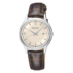 Seiko女士石英皮带手表