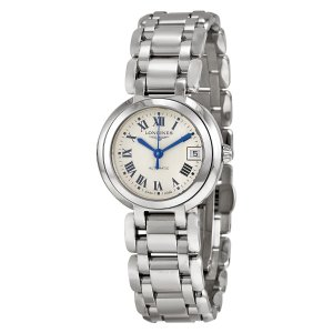 LonginesPrimaLuna Silver Dial Stainless Steel Ladies Watch L81114716 PrimaLuna Silver Dial Stainless Steel Ladies Watch L81114716