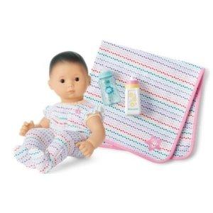 Bitty Baby Doll #4 娃娃套装  彩虹点点睡衣