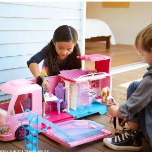 Barbie 梦幻休旅车超大玩具套装史低价促销